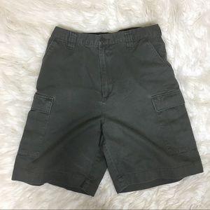 Haggar Generation Green Cargo Shorts